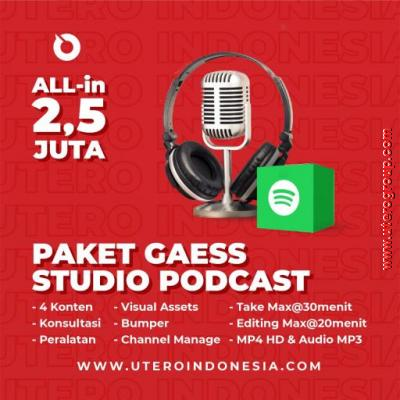 PAKET GAESS STUDIO PODCAST
