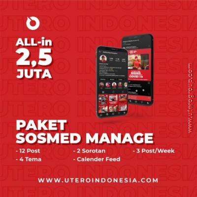 PAKET SOSMED MANAGEMENT
