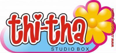 desain logo thitha studio box