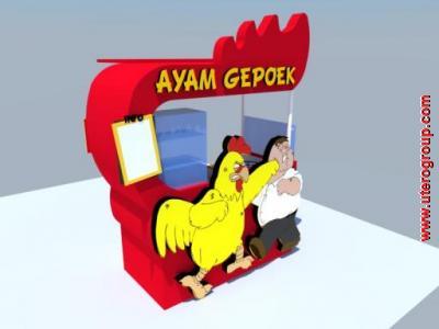 ayam gepok