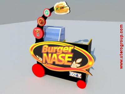 burger nase