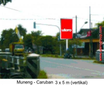 bilboard Muneng - Caruban