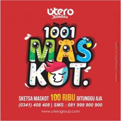 1001 maskot