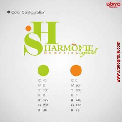 desain logo harmonie syariah