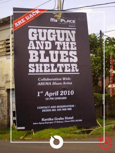 gugun and the blues shelter