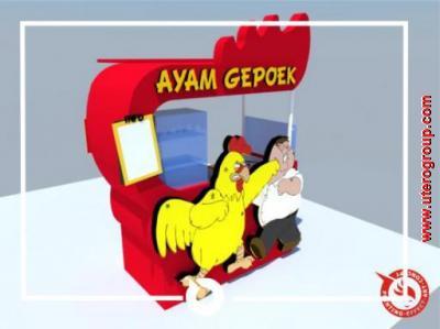 Rombong ayam gepoek
