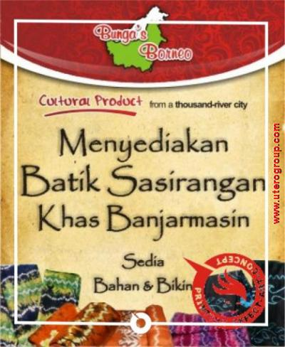 banner batik banjarmasin