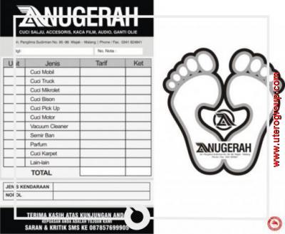 nota anugrah