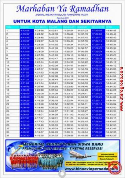 brosur marhaban ya ramadhan