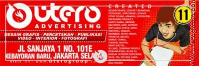 papan nama utero advertising