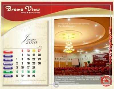 kalender june bromo view