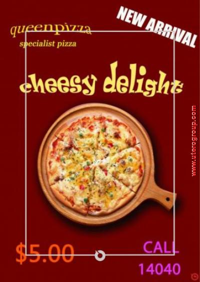 poster queen pizza