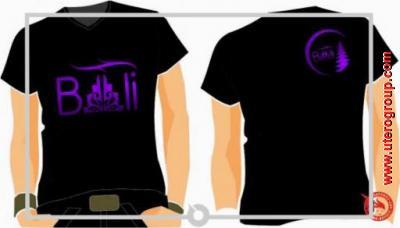 t-shirt black bali