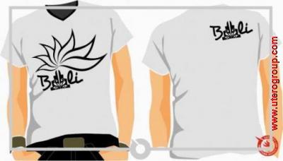 t-shirt white bali