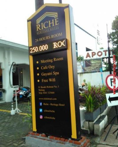 Neon Box Hotel Riche