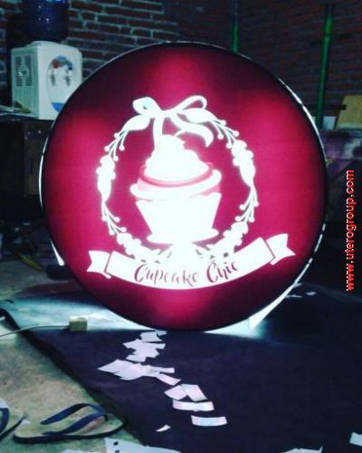 Neon Box Cupcake Cafe
