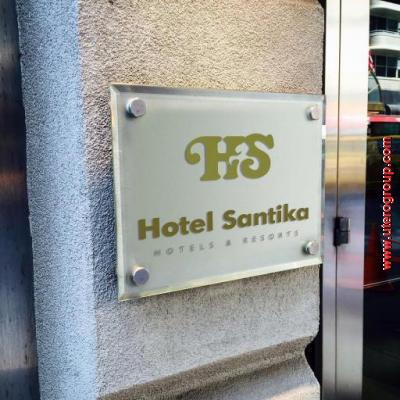 Signage Hotel Santika