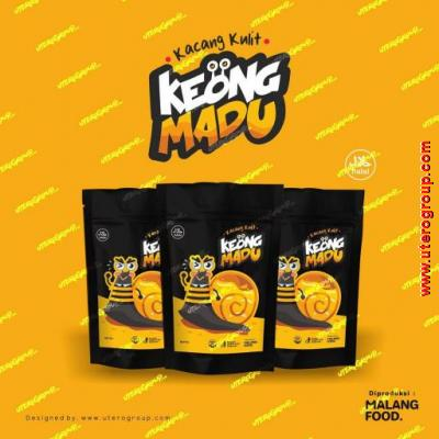Packaging Kacang Kulit Keong Madu