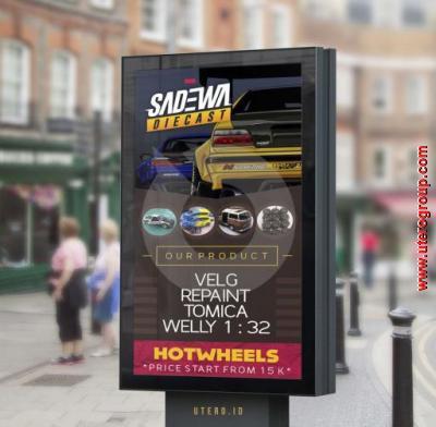 Poster Sadewa Diecast