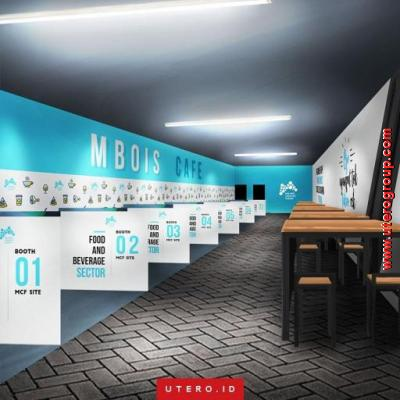 Desain Interior Cafe Mbois