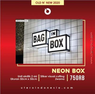 NEON BOX AKRILIK
