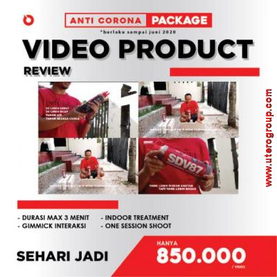 PROMO ANTI-CORONA - VIDEO PRODUK